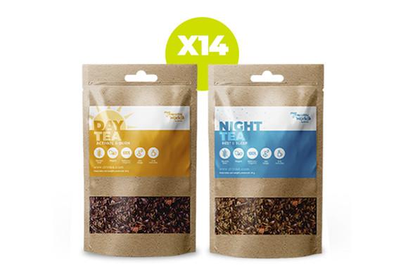 Teatox DAY+NIGHT (14 dias)  }}
